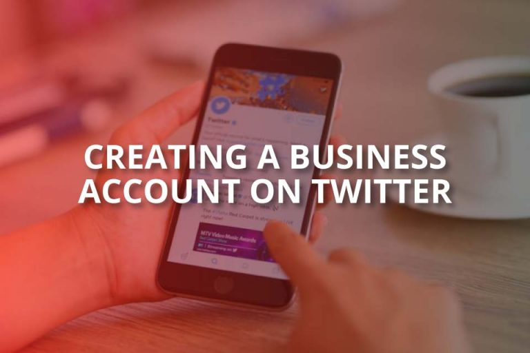 Creating a Business Account on Twitter!