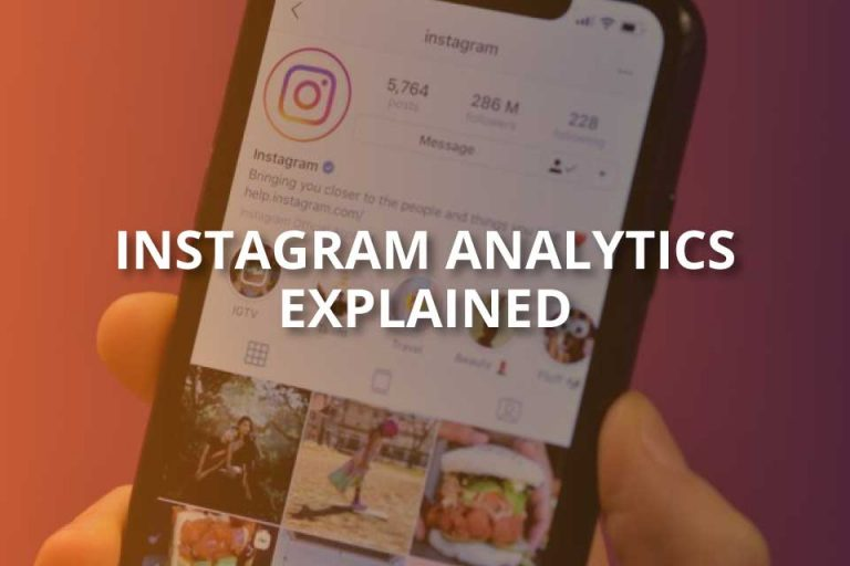 Instagram Analytics Explained! (2020 Guide)